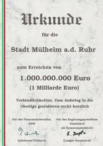 Schulden-Urkunde