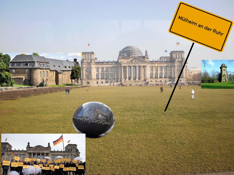 Retten Milliarden aus Berlin bankrotte Städte wie Mülheim?