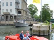Tretboot-Hafenbecken