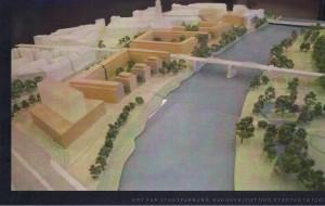 Ruhrbania-Baufelder-Modell