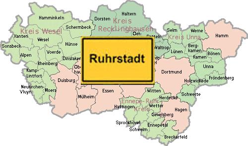 Ruhrgebietskrise: Radikaler Abbau der verschwenderischen, ineffizienten Kirchturmspolitik ist vonnöten!