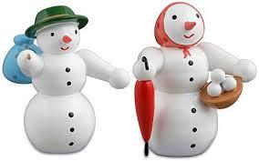 Schneeehepaar