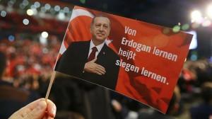 Erdogan-Fahne