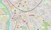 Innenstadt-Baustellenkarte