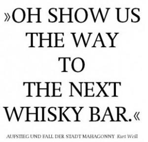 Mahagonny-Whiskey