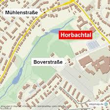 Horbachtal-Karte
