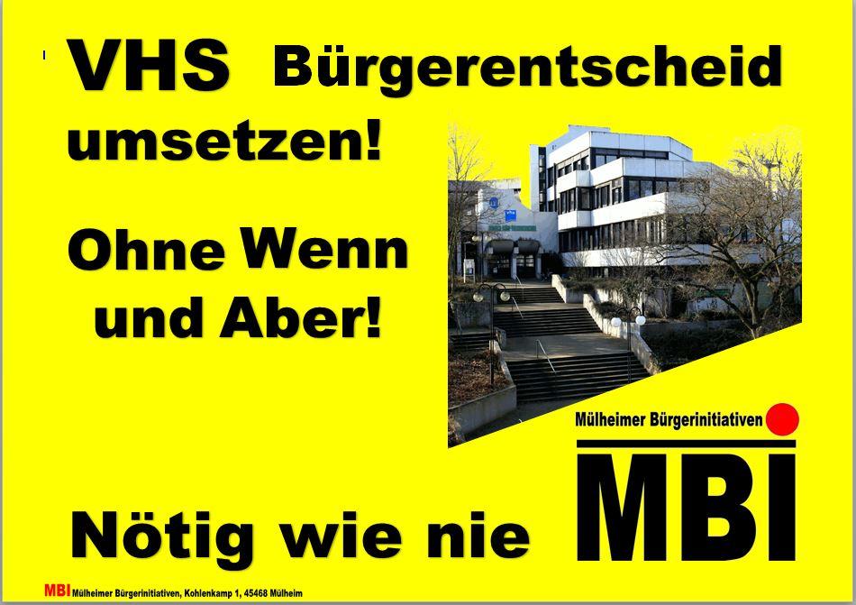 MBI-Forderungen zur Kommunalwahl